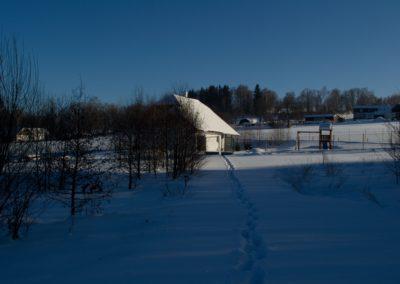 Chalupa Stachy zima3