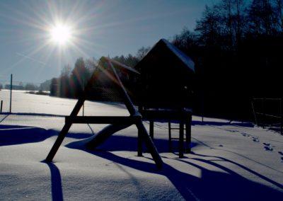 Chalupa Stachy zima4