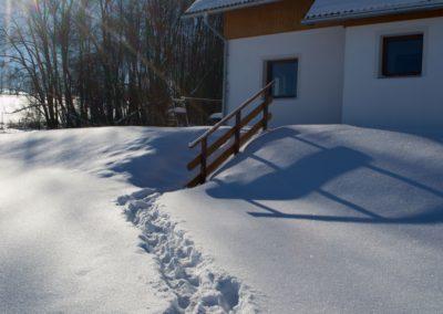 Chalupa Zaječí zima2